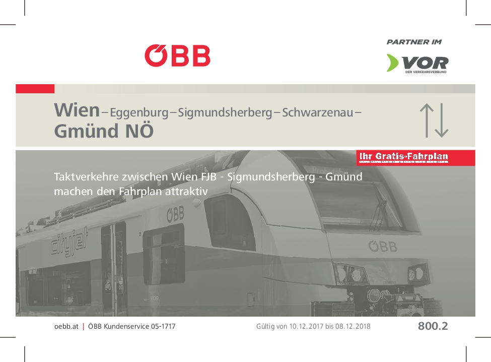 öbb Fahrplan 20172018 Bahnhof Hötzelsdorf Geras Geras